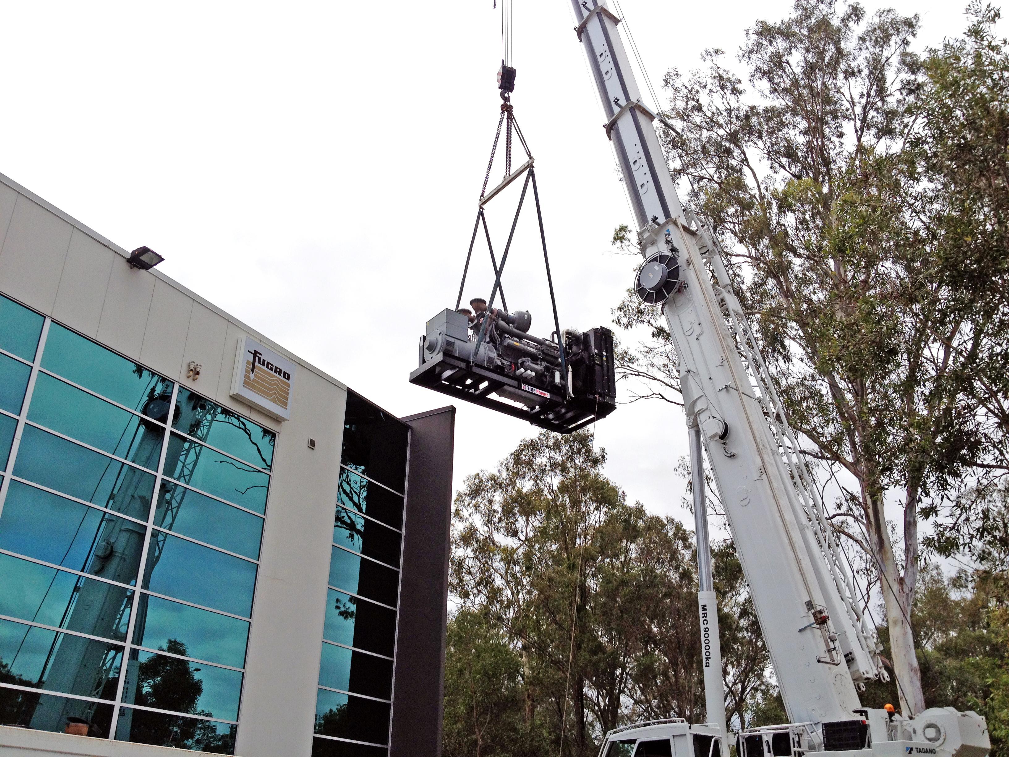 澳大利亚 数据 中心 TPE1500 instalar fotos 027